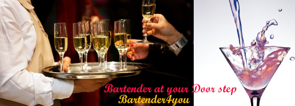 hire bartenders london