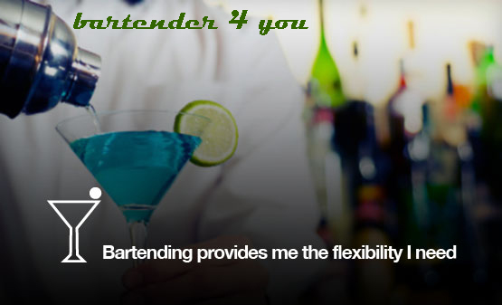 hire bartender london